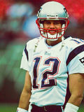 De Patriotten van Tom Brady New England Stock Fotografie