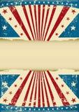 De patriottische achtergrond van Grunge Royalty-vrije Stock Foto's