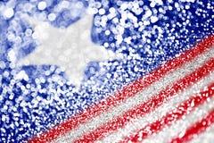 De patriottische Amerikaanse achtergrond van de Vlag Royalty-vrije Stock Afbeeldingen