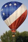 De patriottische Ballon van de Hete Lucht Stock Afbeeldingen