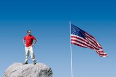 De patriottische Jeugd Stock Foto