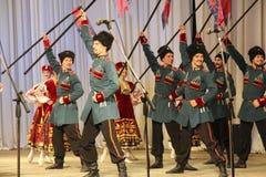 De patriottische liederen van Kuban Royalty-vrije Stock Foto's