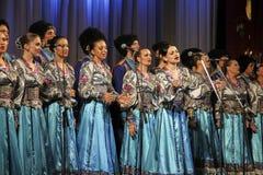 De patriottische liederen van Kuban Stock Afbeeldingen