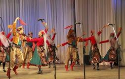 De patriottische liederen van Kuban Stock Afbeelding