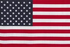 De patriottische vlag van de V.S. Stock Afbeelding