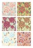 De Patronen van bloemen Royalty-vrije Stock Afbeelding