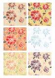 De Patronen van bloemen Royalty-vrije Stock Fotografie