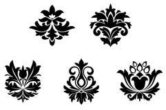 De patronen van de bloem Royalty-vrije Stock Foto