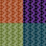 De patronen van de driehoek Royalty-vrije Stock Afbeeldingen