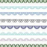 De patronen van de Gorizontaltnyepastelkleur voor ontwerp Stock Foto