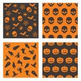 De patronen van Halloween Royalty-vrije Stock Afbeelding