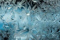 De patronen van het ijs Royalty-vrije Stock Afbeeldingen