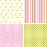 De patronen van het plakboek voor ontwerp,   Royalty-vrije Stock Foto's