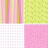 De patronen van het plakboek voor ontwerp,   Royalty-vrije Stock Fotografie