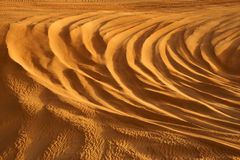 De Patronen van het zand Royalty-vrije Stock Foto's