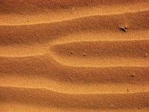 De Patronen van het zand Stock Fotografie