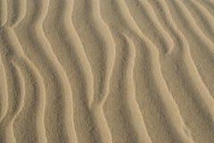 De patronen van het zand Stock Foto's