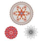 De patronen van Mandala Stock Illustratie