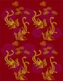De Patronen van Phoenix Royalty-vrije Stock Fotografie