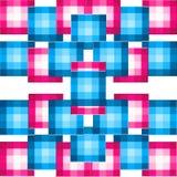 De patronenachtergrond van het blok Stock Fotografie