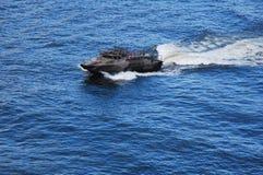 De patrouilleboot van de marine Stock Foto