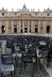 De Pauselijke Basiliek van Heilige Peter in het Vatikaan (Basilica Papale Di San Pietro in Vaticano) Royalty-vrije Stock Fotografie