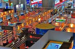 De paviljoenen van de handel van kantonmarkt 2011 Stock Foto
