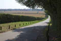 De pays de voie côte vers le bas dans le Sussex. LE R-U photos stock