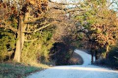 De pays les routes de retour Photo libre de droits