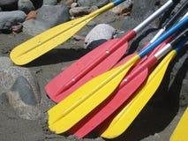 De Peddels van Rafting Royalty-vrije Stock Afbeeldingen