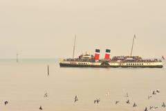 De peddelstoomboot van Waverley Stock Foto's