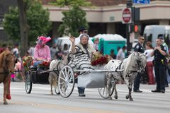 De Pegasus-Parade 2018 royalty-vrije stock foto's