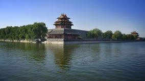 De Peking Verboden Toren van de Poort van de Stad Royalty-vrije Stock Foto's