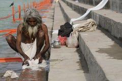 De pelgrim van Indiërs stock afbeelding