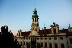 De pelgrimsplaats Loreta van Praag Royalty-vrije Stock Fotografie