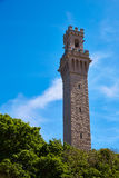 De Pelgrimstoren Massachusetts van Cape Cod Provincetown Stock Afbeelding