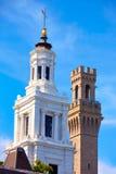 De Pelgrimstoren Massachusetts van Cape Cod Provincetown Royalty-vrije Stock Afbeelding