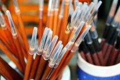 De pen van de borstel Stock Afbeelding