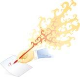 De pen van de brand Royalty-vrije Stock Afbeeldingen