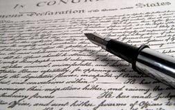 De Pen van de kalligrafie royalty-vrije stock foto