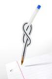 De Pen van de knoop Stock Foto