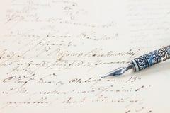 De pen van de veer Royalty-vrije Stock Fotografie