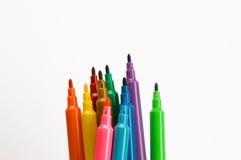 De pen van kleuren royalty-vrije stock afbeelding