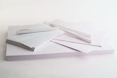 De pennen en wikkelt Royalty-vrije Stock Afbeeldingen