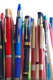 De pennen plaatsen 2 royalty-vrije stock afbeeldingen
