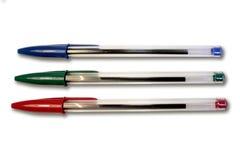 De Pennen van de kleur royalty-vrije stock afbeeldingen