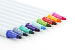 De pennen van de kleur Stock Foto's