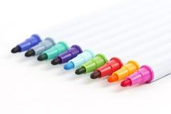 De pennen van de kleur Royalty-vrije Stock Fotografie