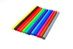 De pennen van het zacht-uiteinde Stock Foto's