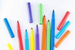 De pennen van het zacht-uiteinde Royalty-vrije Stock Foto's